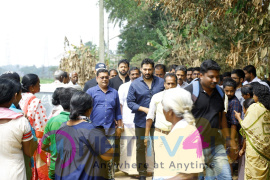 Actor Rahman Full Swing Relief Work At Aluva