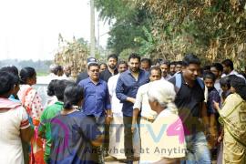 Actor Rahman Full Swing Relief Work At Aluva