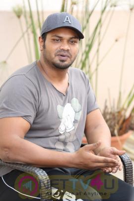 Actor Manchu Manoj Interview Images Telugu Gallery