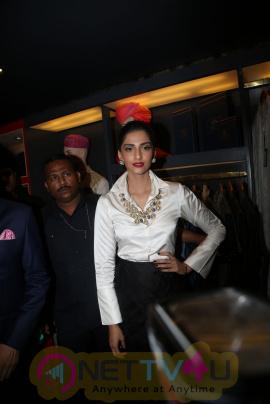 Sonam Kapoor Launches Raghavendra Rathore Store Exclusive Stills Telugu Gallery