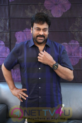 Megastar Chiranjeevi  Exclusive Interview Images