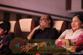 Superstar Rajinikanth At YGM's Kasethan Kadavulada Stage Show Stills Tamil Gallery