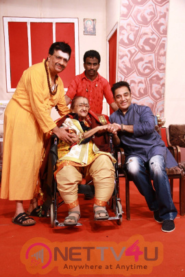 Ulaganayagan Kamal Haasan Watched 65th Successful Stage Show Of YGM's Kasethan Kadavulada At Abbas Cultural's Kalaivizha 2017 Ta