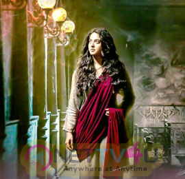 Beautiful Actress Anushka Shetty At Bhaagamathie Movie Stills Telugu Gallery