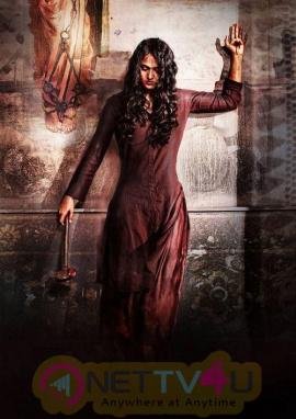 Beautiful Actress Anushka Shetty At Bhaagamathie Movie Stills