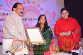 Special Recognition Awards In The Textile Sector To Young & Bold Woman Entrepreneur Mrs.Mythili Stills