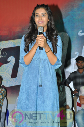 Dwaraka Movie Success Tour Vijayawada Pics