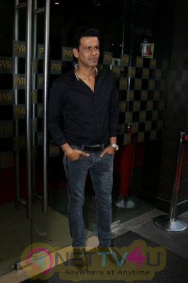 Special Screening Of Naam Shabana With Manoj Bajpayee