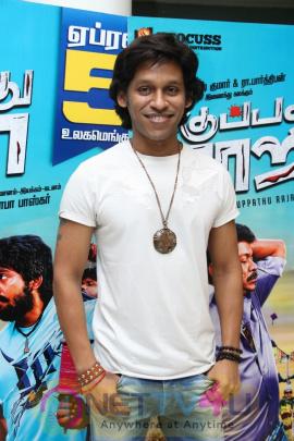 Kuppathu Raja Movie Premiere Show Pics Tamil Gallery