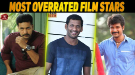 Top 10 Most Overrated Stars Of Kollywood