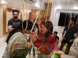 Actress Hansika Motwani Birthday Celebration Pics