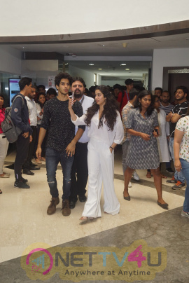 Master Class With The Star Cast Of Dhadak Movie At Whistling Wood Photos