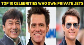Top 10 Celebrities Who Own Private Jets