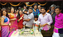 Dance Master Lalitha Shobi & Shobi's Daughter Syamantakamani Ashvika 2nd Birthday Celebration Stills Tamil Gallery