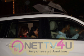 Stills Of Shilpa Shetty, Raveena Tandon Together At Anil Kapoor's House Celebrating Karwa Chauth Hindi Gallery