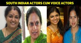 Top 10 South Indian Voice Actors