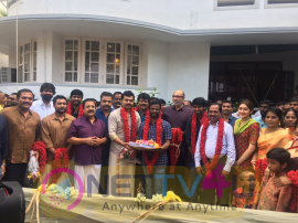 Actor Karthi NewMovie Pooja Stills Tamil Gallery