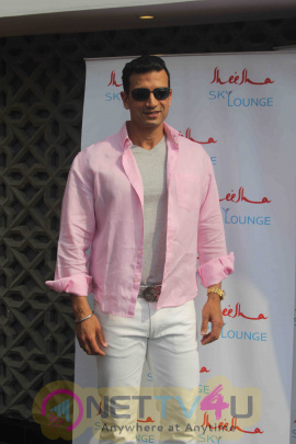 Ajay Devgan At The Launch Of Sheesha Sky Lounge Stills