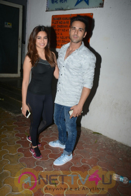 Kriti Kharbanda & Pulkit Samrat Spotted At Andheri