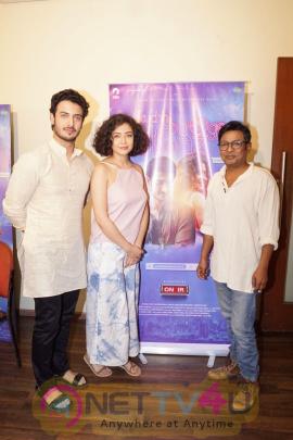 Onir, Zain Khan & Geetanjali Thapa For Film Kuchh Bheegay Alfaaz