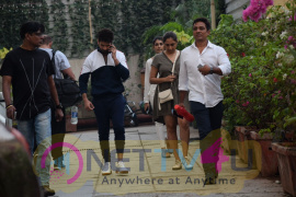Shahid Kapoor Spotted At Sucasa Bandra For Shoot