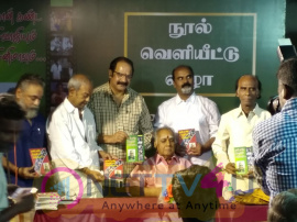 Writer Balamurugan's Naan Kanda Sivajiyum Cinemavum Book Launch Images Tamil Gallery