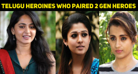 Telugu Heroines Who Paired Two Generation Heroes Of The Same Family