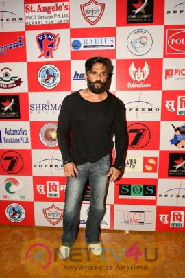 Sunil Shetty Present At Launch Of Supremo Chashak