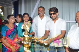 Actor Arya Opens Badminton Academy Pics Tamil Gallery
