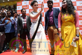 Happi Mobile Stores Launched By Thamanna In Kurnool Pics Telugu Gallery