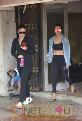 Malaika Arora & Kareena Kapoor Came To Pilates Gym