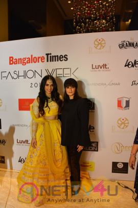 Showstoppers Sridevi, Shruti Hassan, Saina Nehwal Walks Ramp At 1st Edition Of Bangalore Times Fashion Week Stills Hindi Gallery
