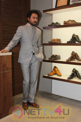 Irrfan Khan Visits Johnston & Murphy Store Magnificent Images Hindi Gallery