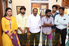 Upcoming Tamil Movie Plus Or Minus Movie Pooja Stills Tamil Gallery