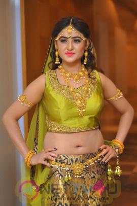Actress Sony Charishta New Traditional Style Pics  Telugu Gallery