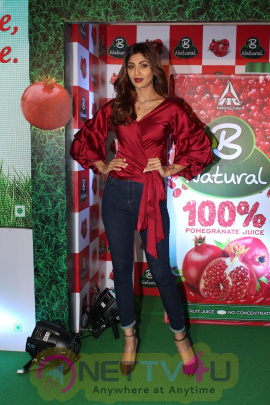 Shilpa Shetty At Launch Of B Natural Fruits Beverages Event Stills Hindi Gallery