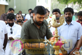 Kalapatru Pictures Production No.3 New Movie Pooja Images