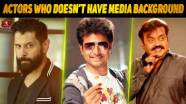10 Tamil Actors Who Doesn't Have Media Background