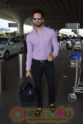 Upen Patel Spotted At Airport