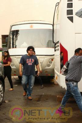 Pooja Hegde & Sajid Khan Came To Housefull 4 Movie Shooting Spot Hindi Gallery