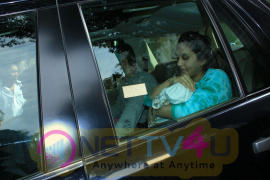 Rohit Dhawan With His Wife Discharge In Hinduja Hospital Bandra Images