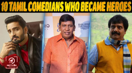 10 Tamil Comedians Who Became Heroes