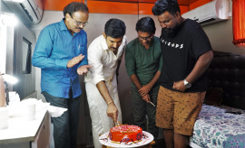 Kolaigaran Movie Success Celebration Pics
