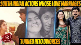 South Indian Actors Whose Love Marriages Turned Into Divorces