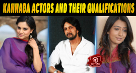 Kannada Actors And Their Qualifications