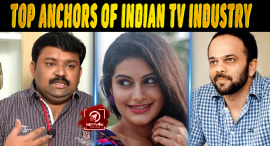 Top 5 Anchors Of Indian TV Industry