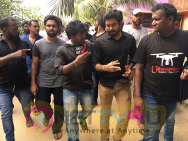 G V Prakash And Aari Visited Cyclone Affected Kanyakumari Images Tamil Gallery