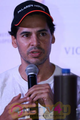 Dino Morea And Pooja Bedi At Pc Of Road Safety Campaign Stills