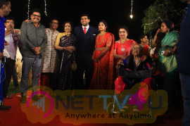 Y.Gee.Mahendra's Son Harshavardhana - Swetha Wedding Reception Images Tamil Gallery