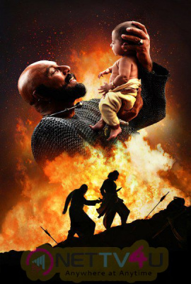 Baahubali 2 New Magnificent Poster And Photos Telugu Gallery